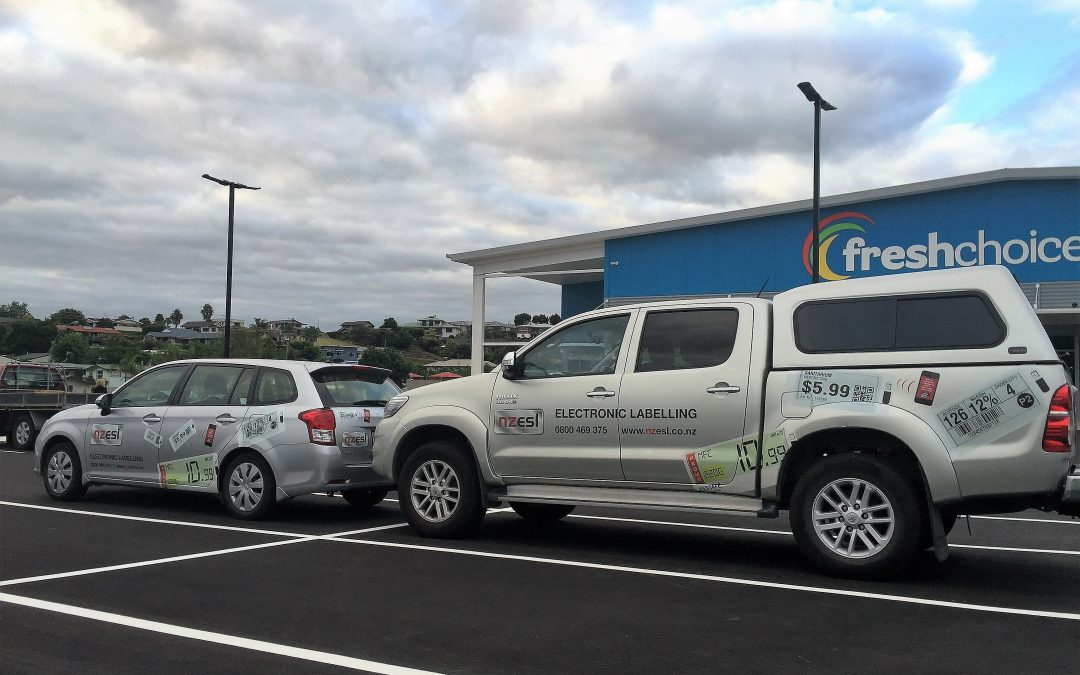 Fresh Choice Omokoroa – First store in Bay of Plenty region to install ESL