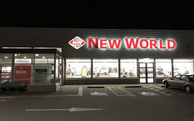 First store on the West Coast gets installed